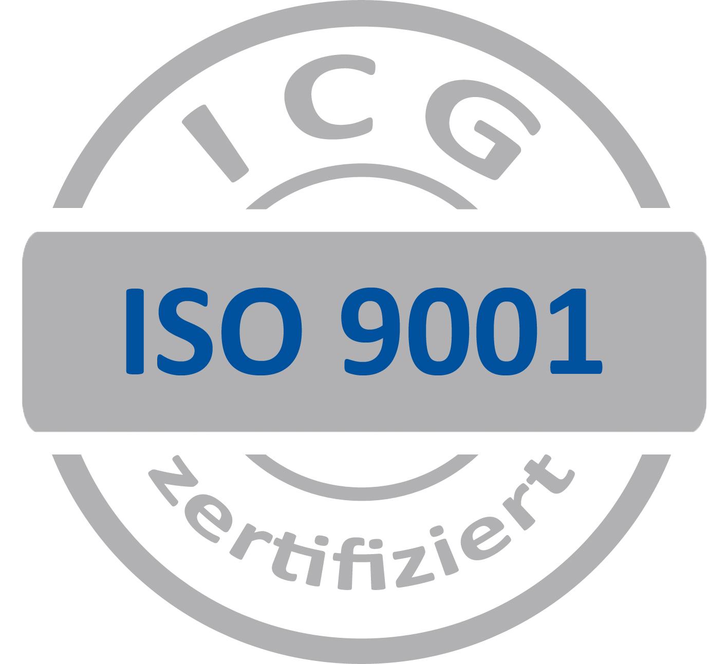 Zertifiziert nach ISO 9001:2015