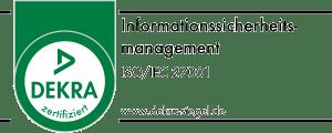 Zertifiziert nach ISO/IEC 27001:2017