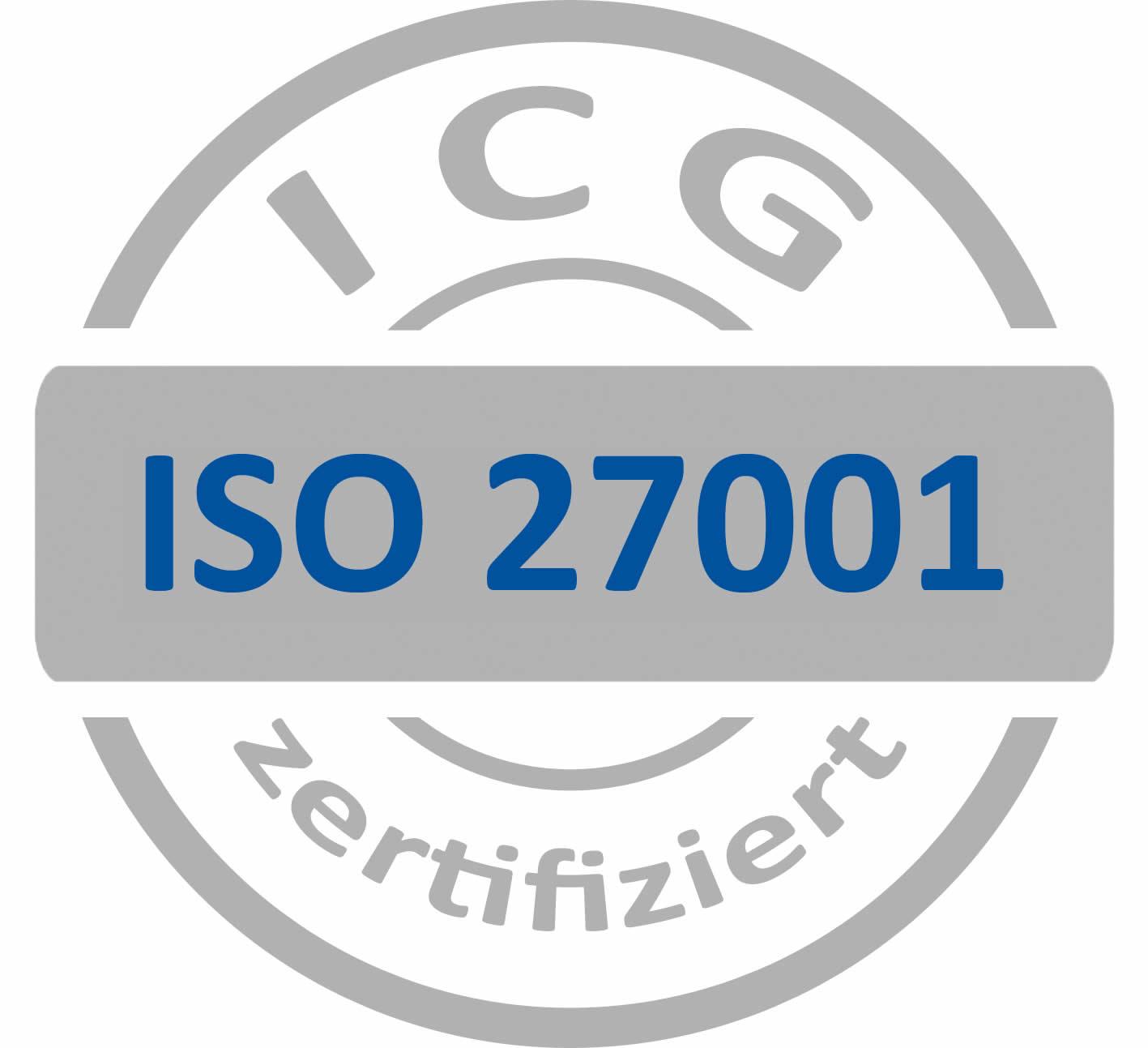 Zertifiziert nach ISO/IEC 27001:2013
